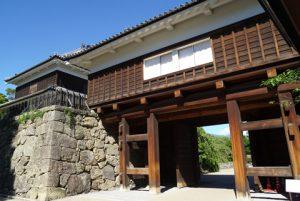 上田城画像