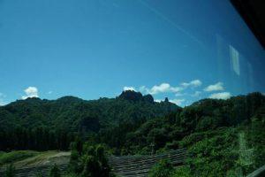 裏妙義山の写真