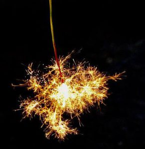 線香花火の画像
