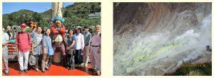 箱根観光の様子