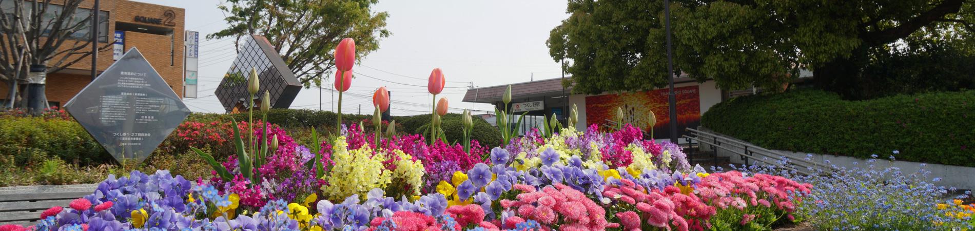 つくし野駅前風景1